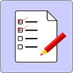 image of a feature tick list