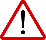 image of a warning safety sign