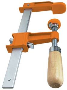 image of some clamps used in woodworking