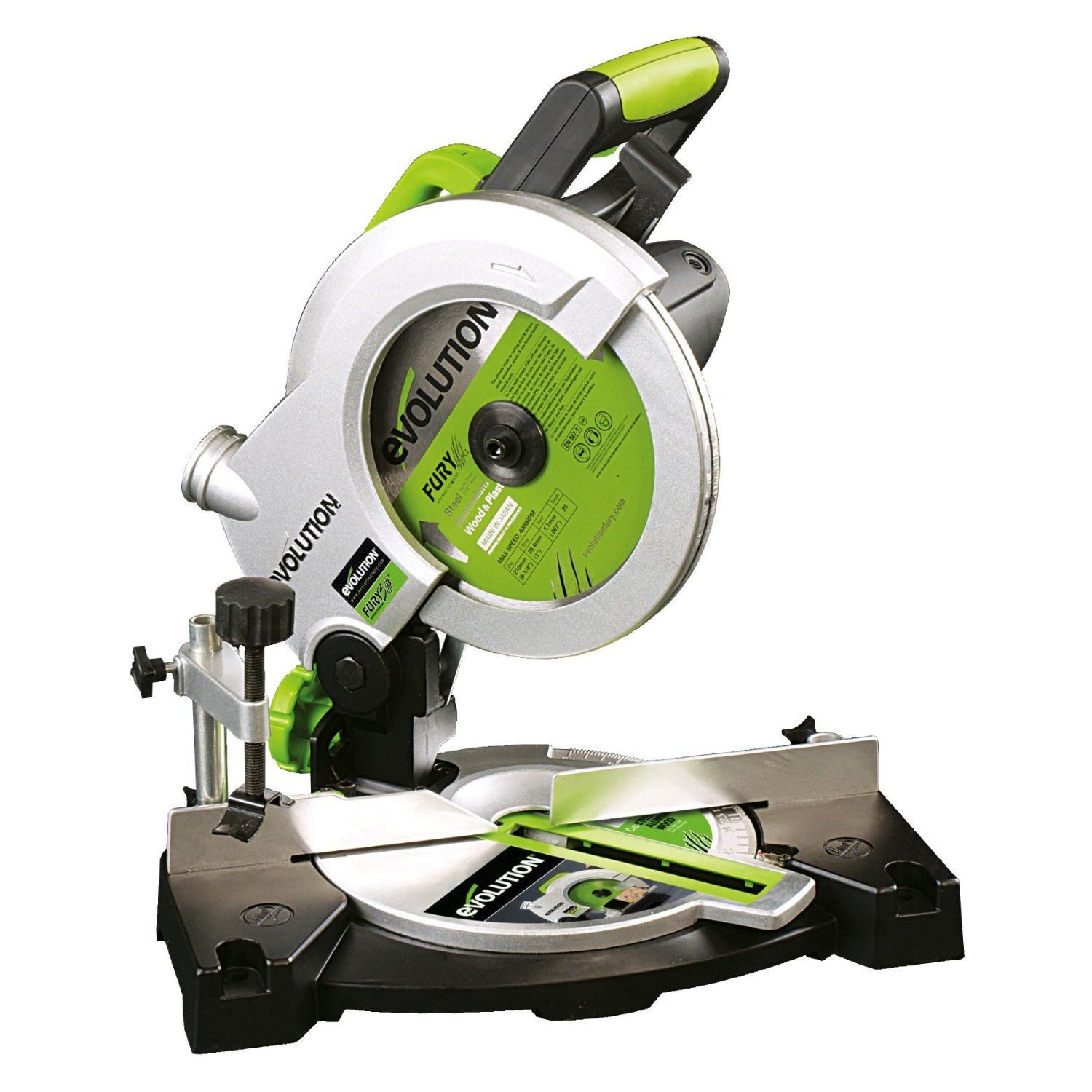 Evolution FURY3-B 210mm Multipurpose Compound Mitre Saw