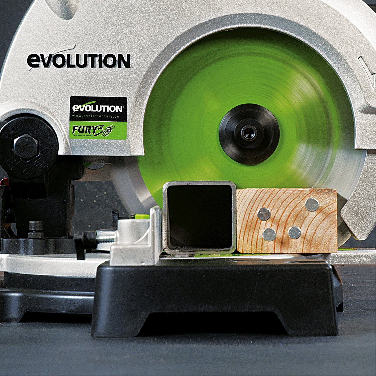 evolution fury 3b compound mitre saw