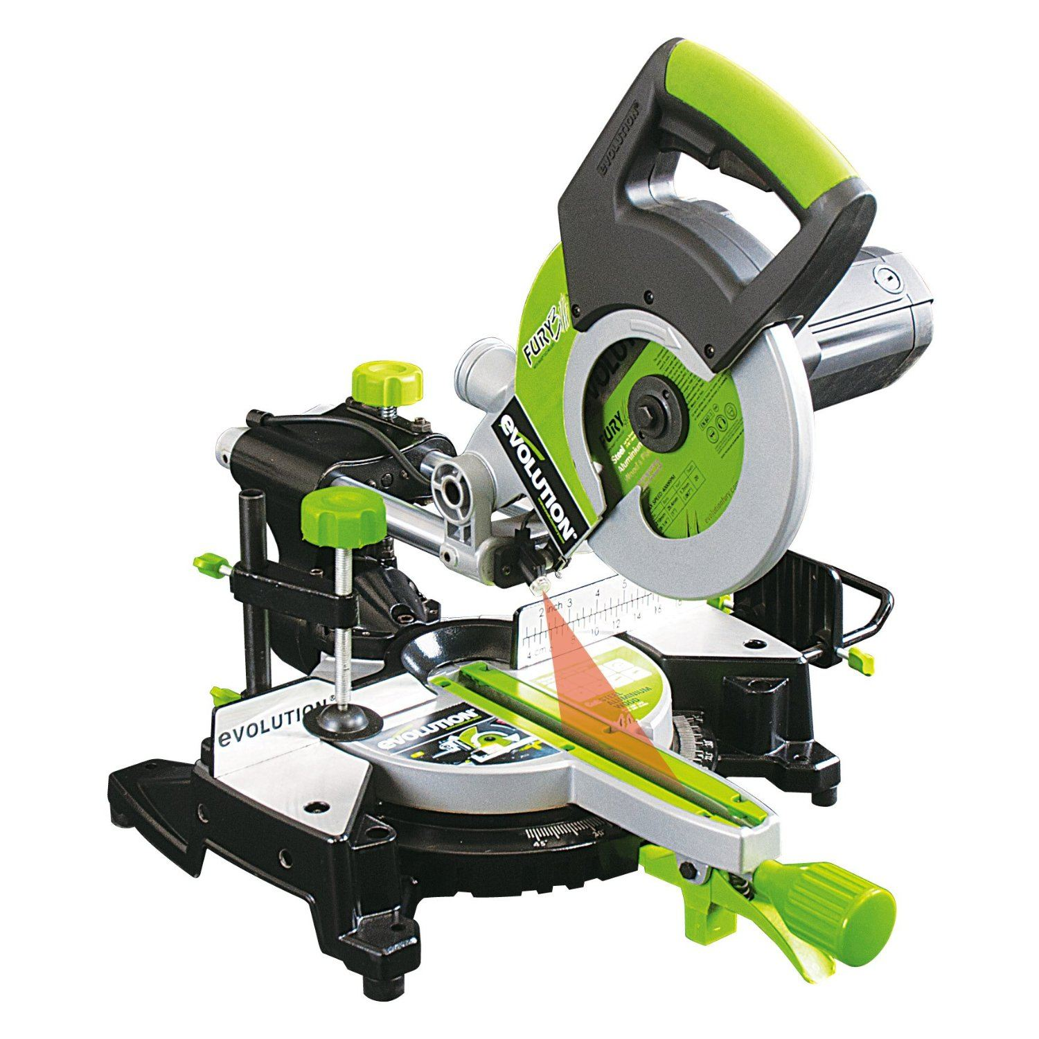 Evolution Fury3 Multipurpose Sliding Mitre Saw 210 mm - 230 V