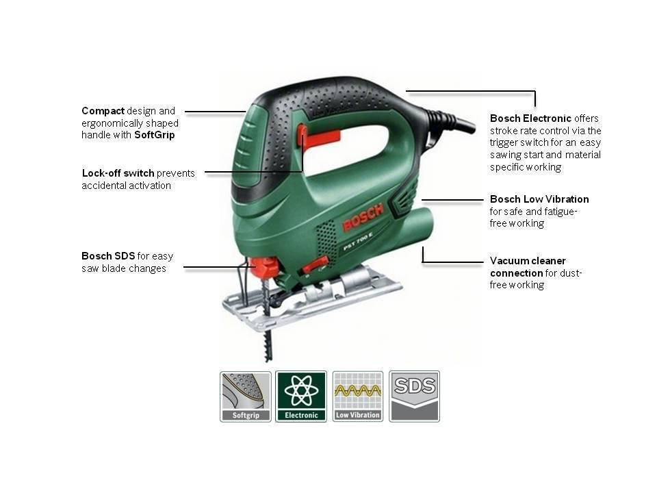 PST 700 E Compact Corded Jigsaw