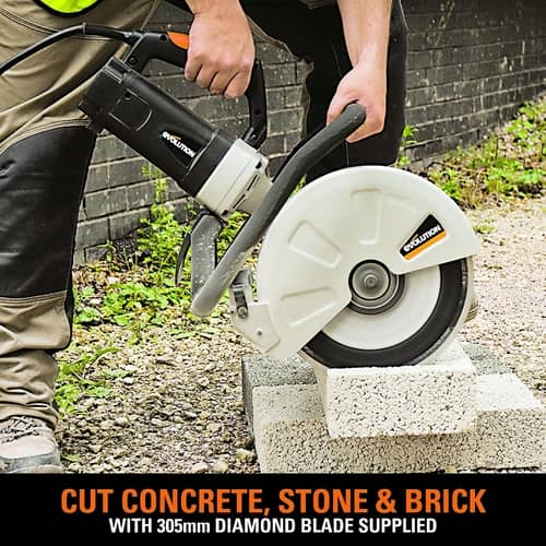 Evolution Concrete Electric Disc Cutter